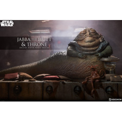 Jabba and Throne DELUXE